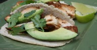 Chicken tacos with Ancho-cumin seasoning