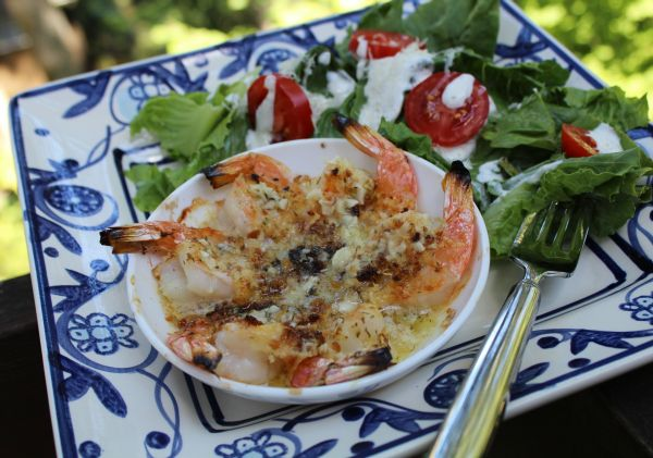Greek Shrimp Scampi