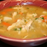 Chicken Vegatable Rice soup
