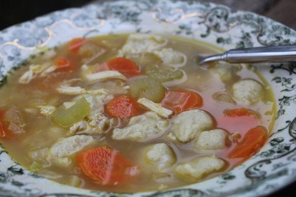 Easy Chicken Dumpling Soup